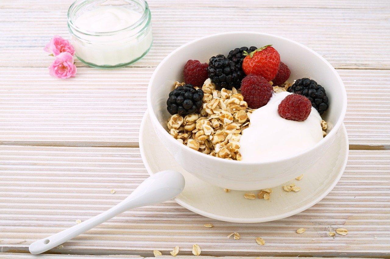 Assiette de Céréales aux fruits